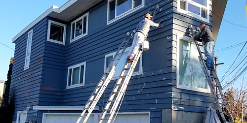 Exterior Home Painting Greenlake Seattle
